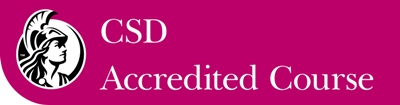 Chartered Society of Designers accreditation logo