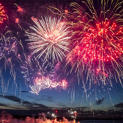 The chemistry behind firework colours