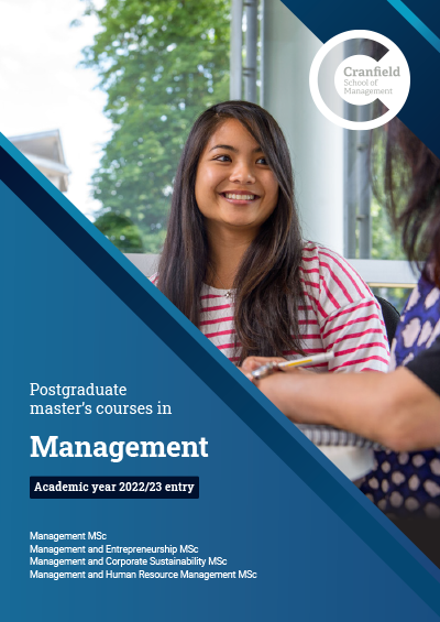 Management MSc brochure