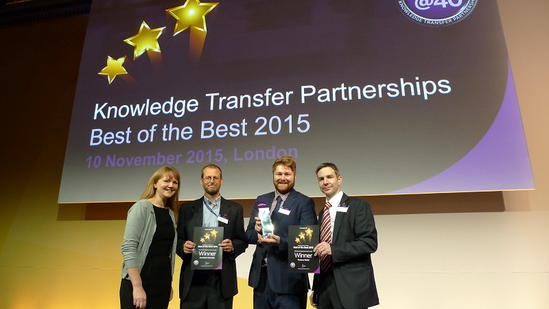 Knowledge Transfer Partnerships Awards 2015 Winners