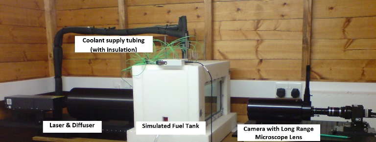 Icing test rig