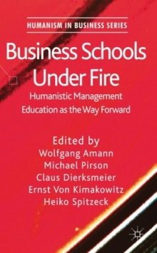 Business Schools Under Fire Cover