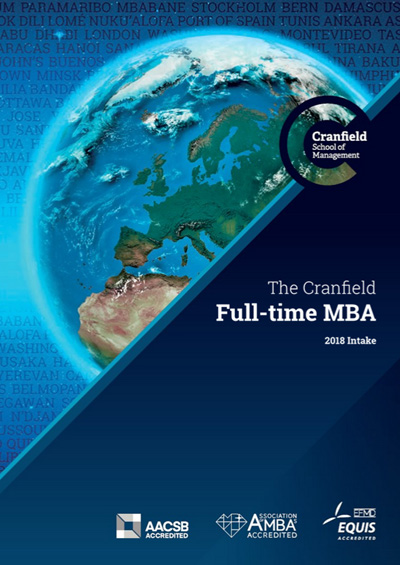 Full-time MBA Brochure