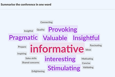 Summarise the conference in one word