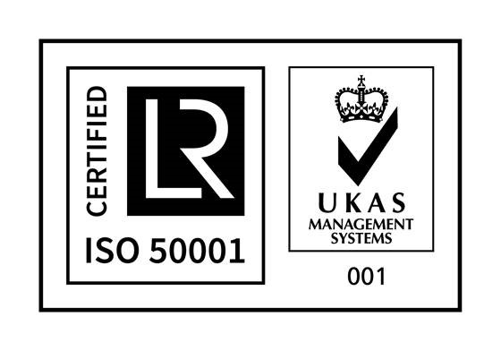 UKAS Management Systems ISO 50001 logo