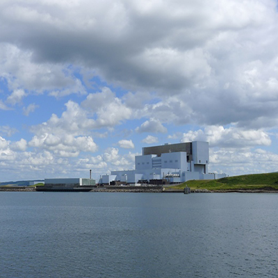 An image of the EDF powerplant