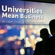 Universities mean business