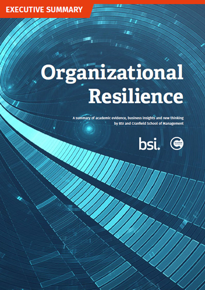 Organizational Resilience Executive Summary