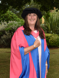 Dr Frances Saunders, Honorary Cranfield Graduate