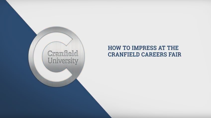 How to impress at the careers fair - a guide for Cranfield students