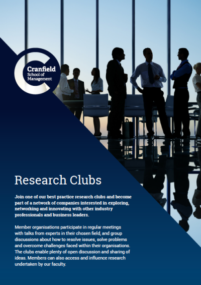 Research Clubs Leaflet