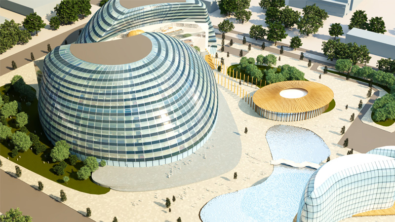 Artists impression of MK:U (external)