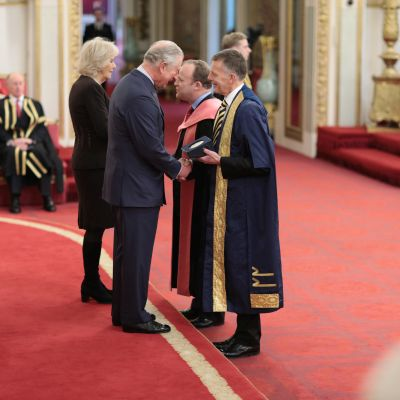 University collects its fifth Queen's Anniversary Prize at Buckingham Palace