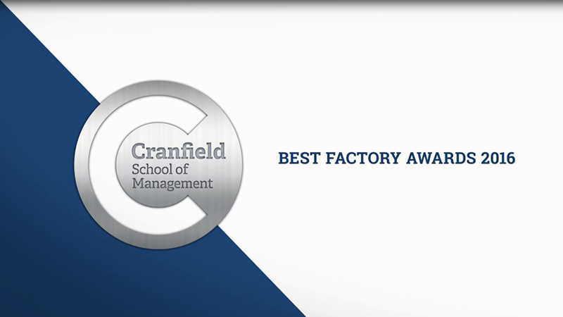 Best Factory Awards Video 2016