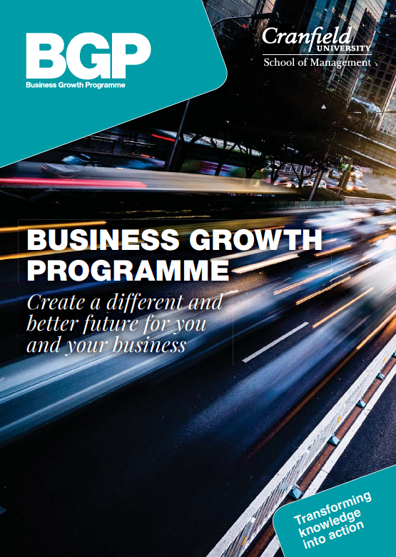 Business Growth Programme Brochure