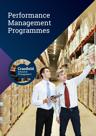 Performance Management Programmes Brochure