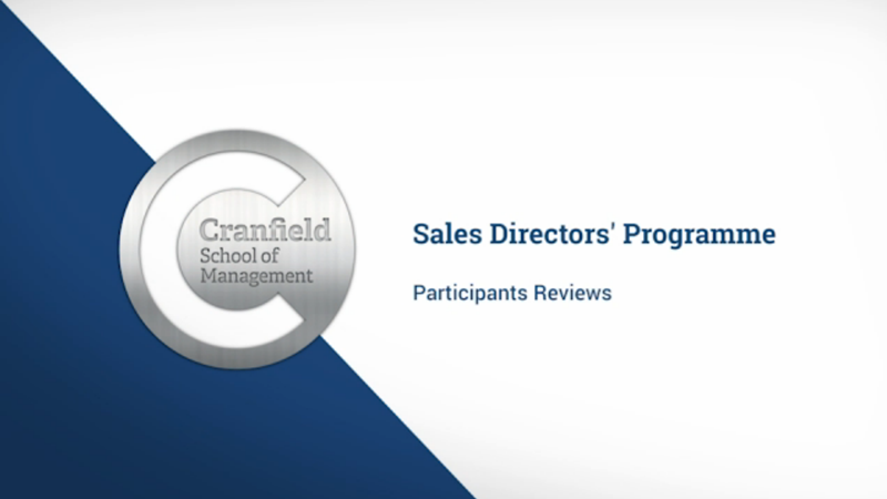 Sales Directors Programme participants reviews