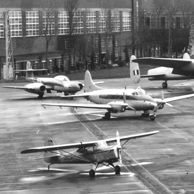 Historic image of planes