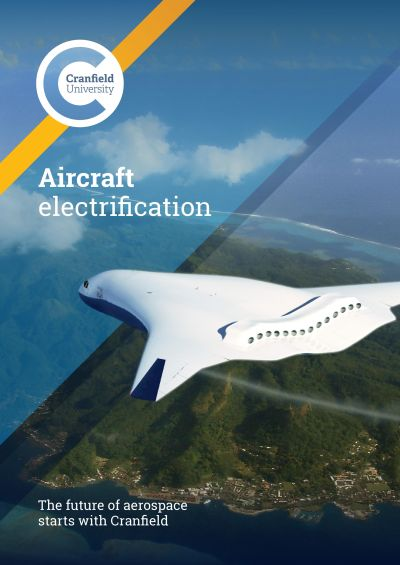 Aircraft Electrification brochure front cover