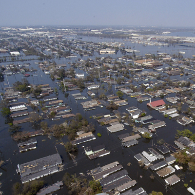 UAVs and flooding