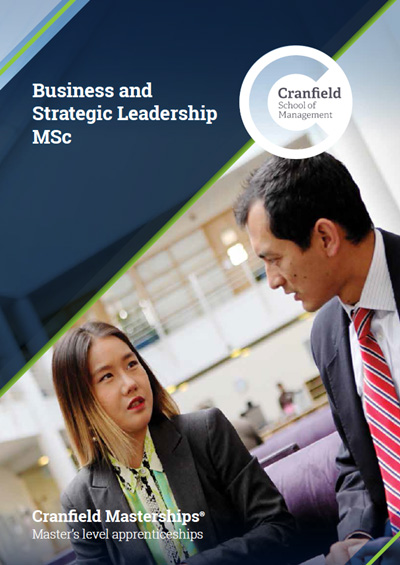 Business and Strategic Leadership MSc