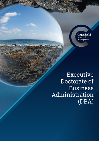 Executive DBA Brochure