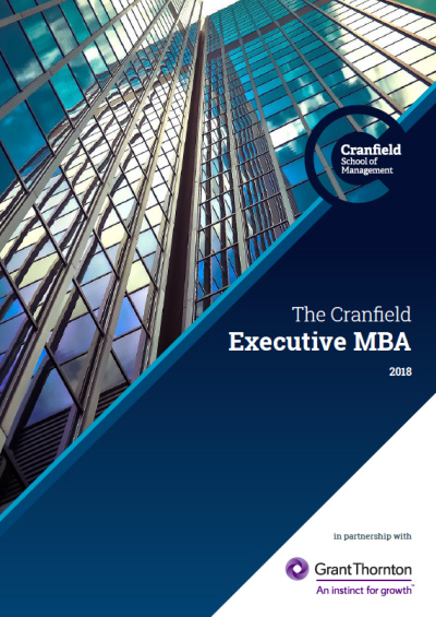 Executive MBA Brochure