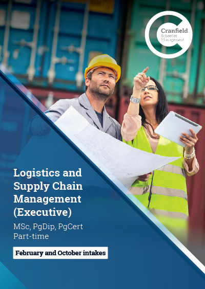 Logistics and Supply Chain Management MSc (Executive)