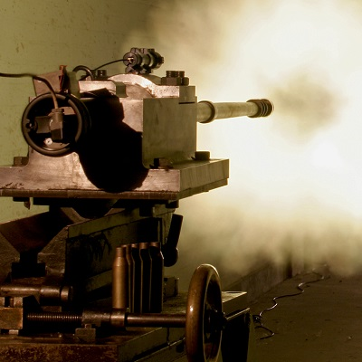 14.5-mm bore firing in the PSL