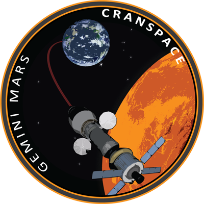 award winning Cranfield team's logo for team Cranspace