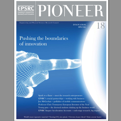 Cover of Pioneer Magazine issue 18