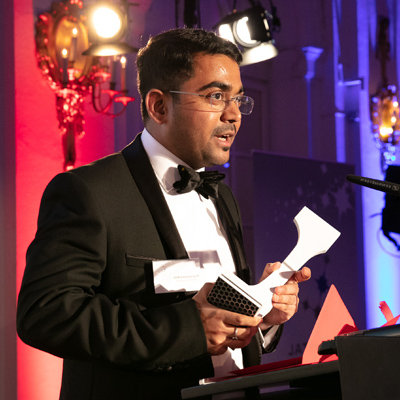 Raghavendra Naik at the Crystal Cabin Awards