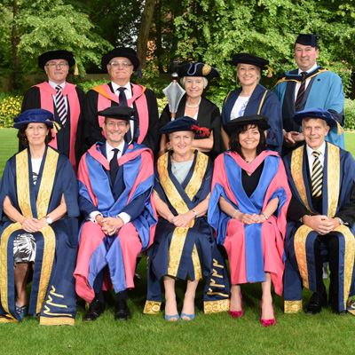 Leading business figures celebrated at Cranfield School of Management graduation