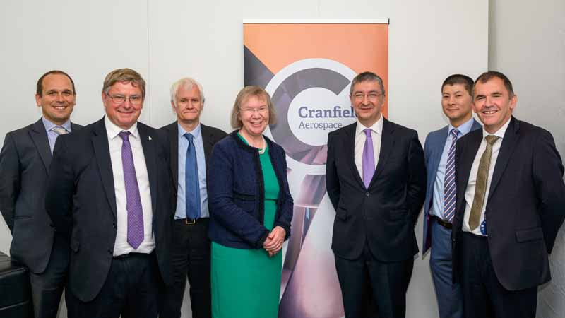 Cranfield and Thales group