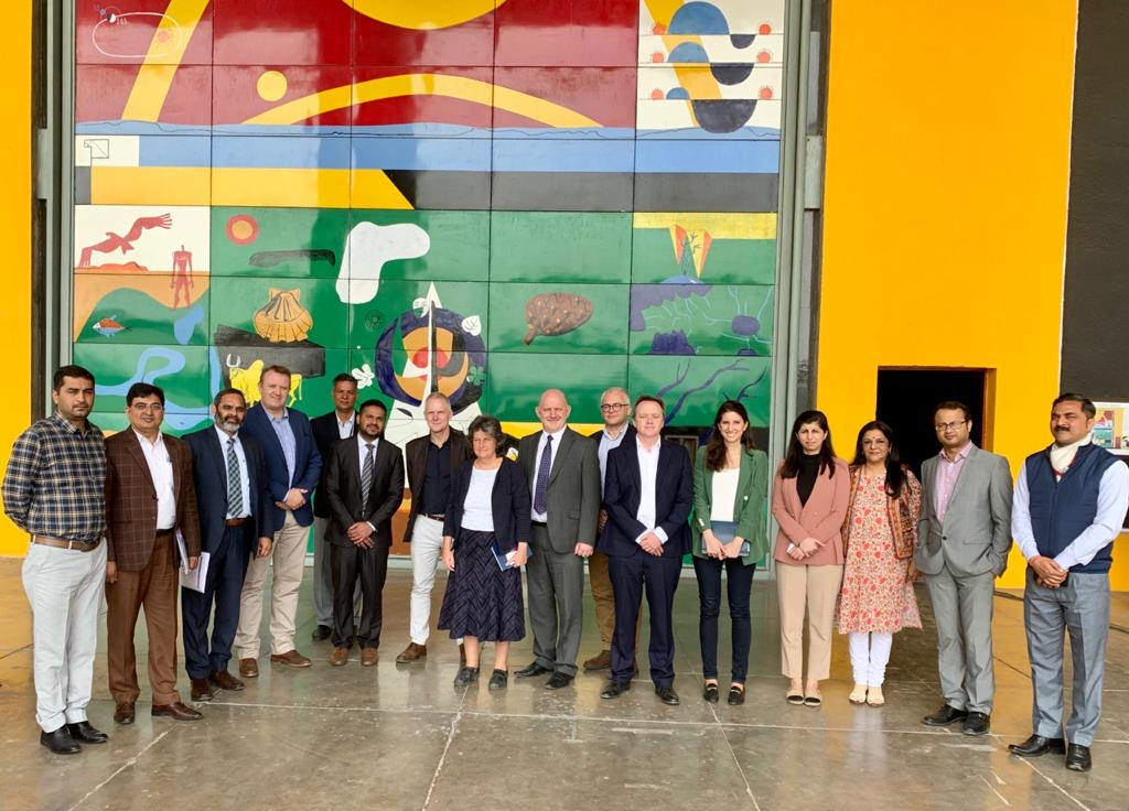 The UK India team looking to develop a local model for Post-Harvest Management and a cold-chain storage hub.