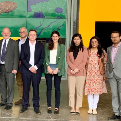 Dr Natalia Falagan at the UK India scouping study tour to develop Post-Harvest Managemanet and cold-chain storage hub.