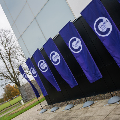 cranfield university flags