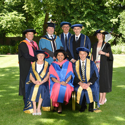 Cranfield University Honourary Graduates 2018