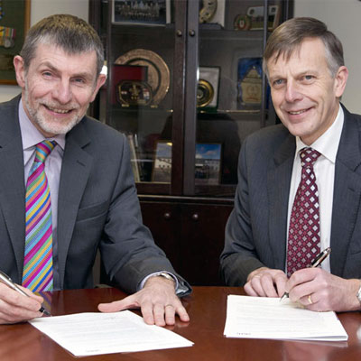 Dstl charter signing