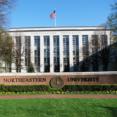 Front of Northeastern University