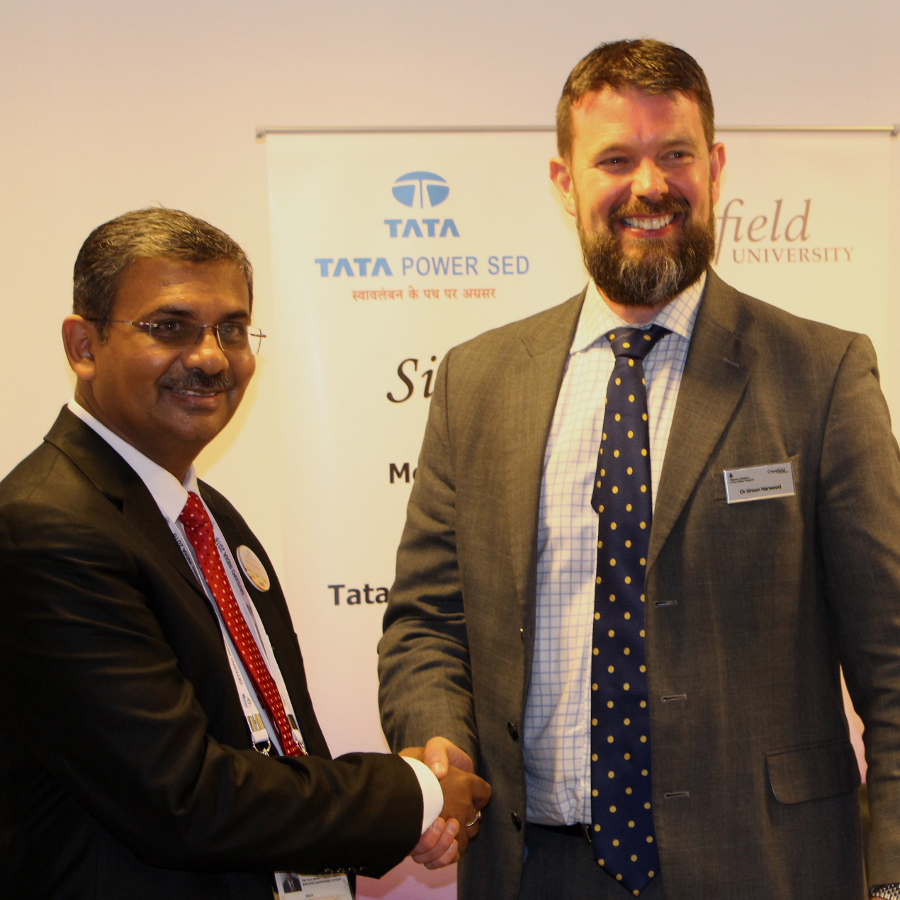 Tata Power with Dr Simon Harwood