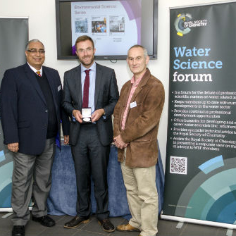 Professor Simon Parsons at the Water Science forum
