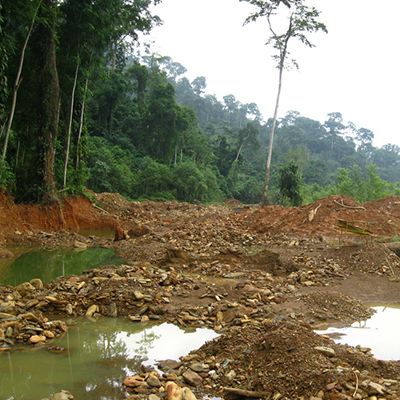 Assessment of gold mining in the cocoa growing area of Ghana