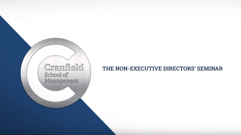The Non-Executive Directors' Seminar