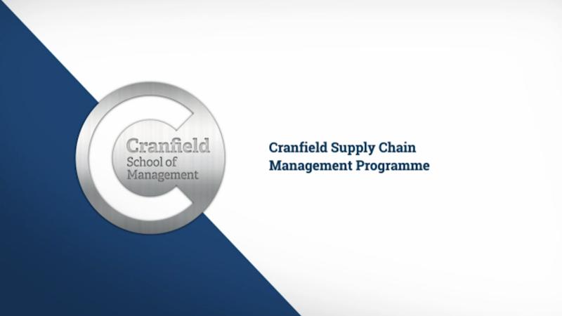 Supply Chain Management Programme