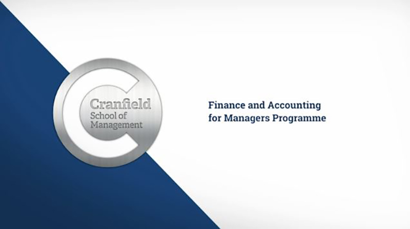 Finance and Accounting for Managers