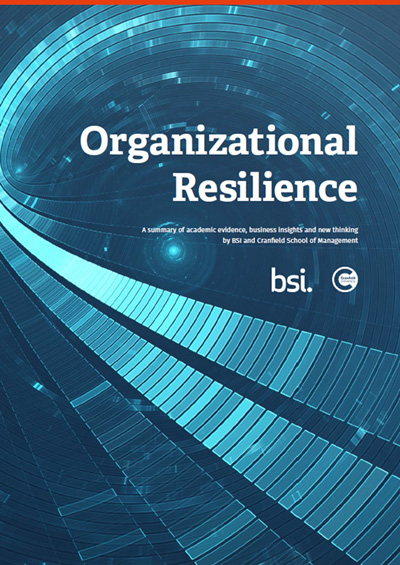 Organizational Resilience