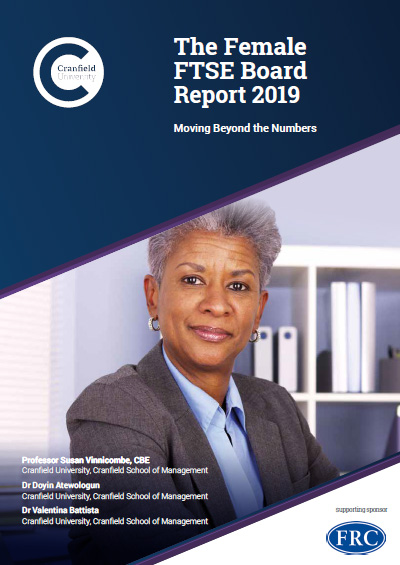 The Female FTSE Board Report 2019