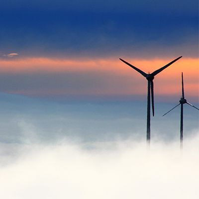 Wind Turbine in Cloud - Advanced Mech Eng