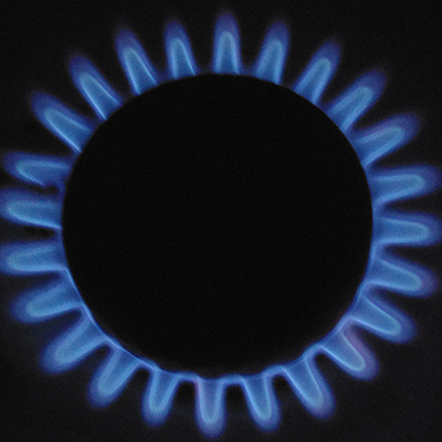 Gas Burning - Gas energy